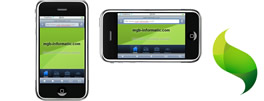 Websites for mobile devices